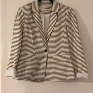 Calvin Klein Striped Blazer
